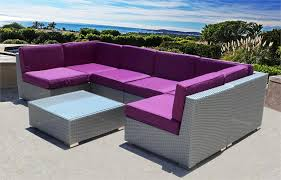 Wicker Sectional Patio Furniture by Outdoor Wicker Sectional Sofa Set