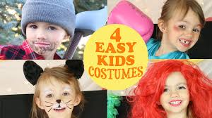 4 cute u0026 easy costume ideas for kids youtube