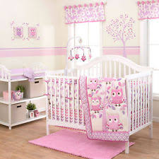 Pink Chevron Crib Bedding Grey And Pink Chevron Owl 4 Baby Crib Bedding Set By