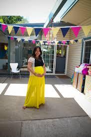 outdoor garden baby shower u2014 mid century modern interior designer
