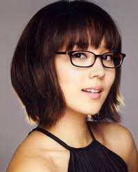 short hairstyles with glasses and bangs 15 best women hairstyle with glasses images on pinterest hairstyle