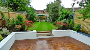 pleasing landscape garden ideas for classic home interior design