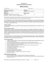 Medical Assistant Resume Templates Emergency Room Doctor Job Description