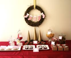 Christmas Buffet Table Decoration by Inspirational Christmas Decorations Ideas Table 36 In Home