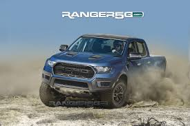 ford raptor jump here u0027s the best guess yet at what the ford ranger raptor will look