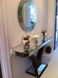 hallway table and mirror sets 10 best quartz console mirror customer photos images on