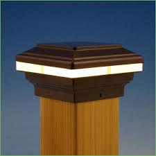 Solar Deck Lights Lowes - lighting solar deck post cap lights home depot solar deck post