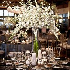 white flower centerpieces white flower centerpieces help the knot