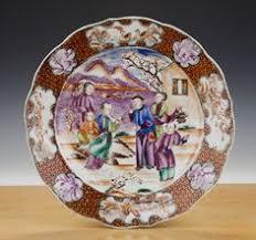 mandarin porcelain export porcelain famille mandarin palette punch bowl