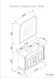 Standard Bathroom Vanity Sizes by Typical Bathroom Mirror Size Rukinet Com Average Height Bathroom