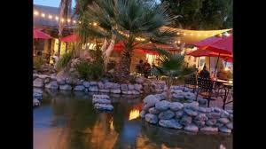 Rock Garden Restaurant Rock Garden Restaurant Palm Springs Wmv