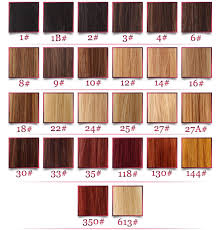 hair color chart hair color chart