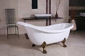 jugendstil badezimmer freistehende luxus badewanne jugendstil sicilia weiß altgold
