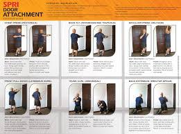 door gym exercises u0026 door gym chin up bar