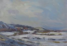 how to paint winter landscapes in oil how to artists