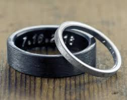 wedding band wedding bands etsy