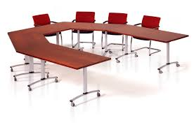 U Shaped Boardroom Table Gemini Round Table With Open Center