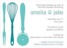 photo kitchen bridal shower invitation image