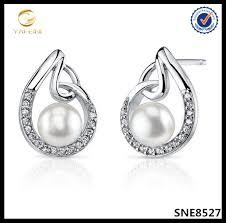 flat back earrings flat back pearl studs flat back pearl studs suppliers and