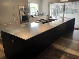 kitchen stainless steel kitchen bench home design awesome classy