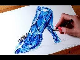 cinderella drawing glass slipper cinderella video fanpop