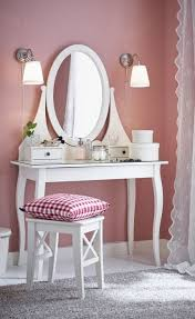 Vanity Tables The Hemnes Dressing Table A Place To Take A Few Minutes For