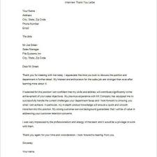 Job Resume Thank You Letter by Nice Thank You Letters For Job Interviews U2013 Letter Format Writing