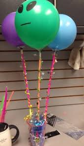 Balloons On Sticks Centerpiece by Balloons Tied To Sticks For Centerpieces Birthday Parties