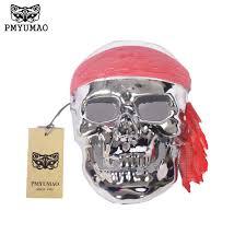 Mask Of Halloween Online Get Cheap Pirate Skull Bones Aliexpress Com Alibaba Group