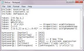 xml pattern space ucalc search beta