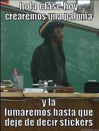 Meme De Hola - rasta science teacher memes quickmeme