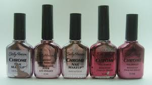 frazzle and aniploish wheel l7 sally hansen chromes and crystal