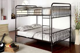 Aria Dark Bronze Full Size Metal Bunk Bed - Full sized bunk beds