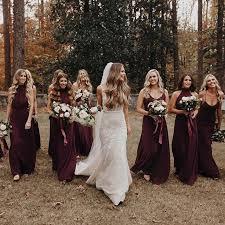 wedding wishes from bridesmaid bridesmaids in merlot mumuweddings weddings in mu