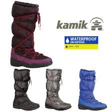 womens winter rubber boots canada shoegreen rakuten global market s kamik luxembourg