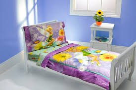 Notre Dame Bedding Sets Purple Tinkerbell Bedding For Girl Toddler Room On Light Gray