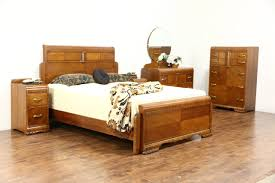 waterfall furniture ebay art deco waterfall 5 pc vintage bedroom set queen size bed signed lenoir