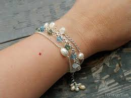 beaded chain bracelet images Bead and chain bracelet 2 jpg