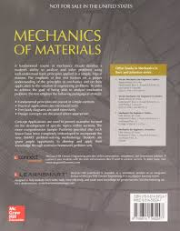 buy mechanics of materials in si units book online at low prices