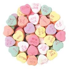 conversation hearts conversation hearts unwrapped candy valentines