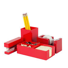 Red Desk Accessories Used Home Office Furniture Check More At Http