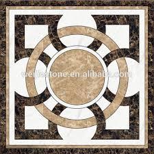 beautiful random mosaic tiles modern waterjet flooring design