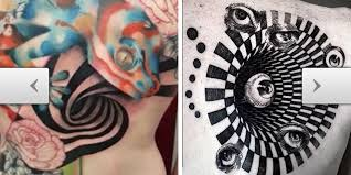 tattoos com 9 of the crasiest optical illusion tattoos ever