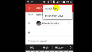 How To Send Resume Via Email How To Send Attachment In Gmail Android App Youtube