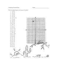 Coordinate Grid Pictures Worksheets Plotting Ordered Pairs Circle Circumference Worksheet How To Write