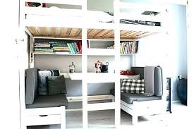 bureau 2 places lit 2 places bois free lit mezzanine blanc places ikea lit