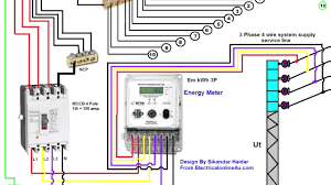 wiring diagram for a 4 pole rcd wiring diagram
