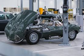 land rover classic lifted jlr now offers expert maintenance for models as old as the xk120