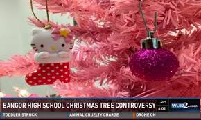 Hello Kitty Christmas Tree Decorations Not Appropriate U0027 Forces Teacher To Remove U0027hello Kitty