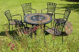 Fire Pit And Chair Set Brown Fire Pit Table And Chairs How To Choose The Best Fire Pit